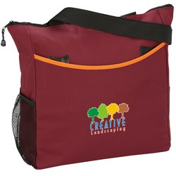 View a larger, more detailed picture of the Two-Tone Tote Bag - Exclusive Colors - Full color