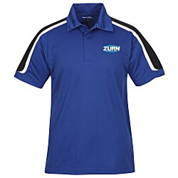 View a larger, more detailed picture of the Tricolor Shoulder Accent Performance Polo - Men s