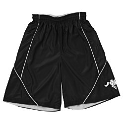 View a larger, more detailed picture of the Smooth Mesh Reversible Spliced Shorts