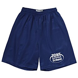View a larger, more detailed picture of the Classic Mesh Reversible Shorts - 7 Inseam