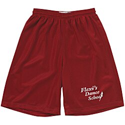 View a larger, more detailed picture of the Classic Mesh Reversible Shorts - 9 Inseam
