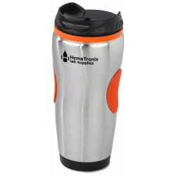View a larger, more detailed picture of the Color Grip Tumbler - 14 oz - Closeout