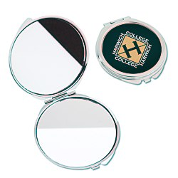 View a larger, more detailed picture of the Round Metal Compact Mirror
