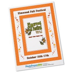 View a larger, more detailed picture of the Removable Picture Frame Decal - 4 x 6 - Diamond