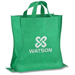 View a larger, more detailed picture of the Polypropylene Shop-N-Fold Cold Tote - Closeout