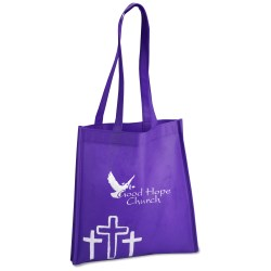 View a larger, more detailed picture of the Spiritual Tote - Crosses - Closeout