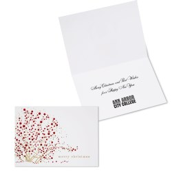 View a larger, more detailed picture of the Red Berries Christmas Greeting Card
