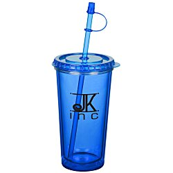 View a larger, more detailed picture of the TakeOut Tumbler w Straw - 16 oz