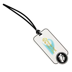 View a larger, more detailed picture of the Bon Voyage Luggage Tag - Ship