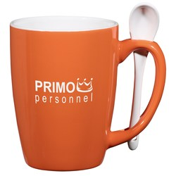 View a larger, more detailed picture of the Spoonful Mug 16 oz