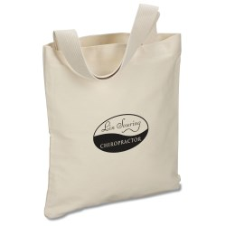 View a larger, more detailed picture of the USA Made Bayside Promotional Tote - Natural - Screen