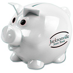 View a larger, more detailed picture of the Lil Piggy Bank - Opaque