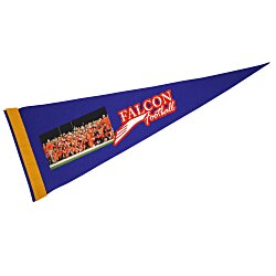 View a larger, more detailed picture of the Premium Pennant 9 x 24 