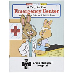 View a larger, more detailed picture of the A Trip to the Emergency Center Coloring Book