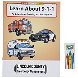 View a larger, more detailed picture of the Fun Pack - Learn About 911