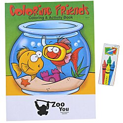 View a larger, more detailed picture of the Fun Pack - Coloring Friends