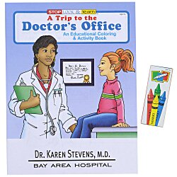 View a larger, more detailed picture of the Fun Pack - A Trip to the Doctor s Office