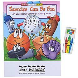 View a larger, more detailed picture of the Fun Pack - Exercise Can Be Fun