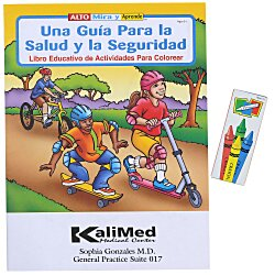View a larger, more detailed picture of the Fun Pack - A Guide To Health & Safety - Spanish