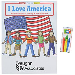 View a larger, more detailed picture of the Fun Pack - I Love America
