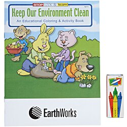 View a larger, more detailed picture of the Fun Pack - Keep Our Environment Clean