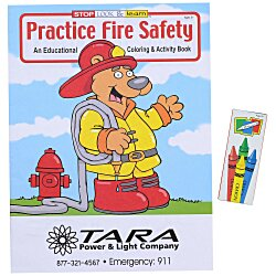 View a larger, more detailed picture of the Fun Pack - Practice Fire Safety