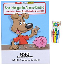 View a larger, more detailed picture of the Fun Pack - Be Smart Save Money - Spanish