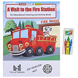 View a larger, more detailed picture of the Fun Pack - A Visit to the Fire Station