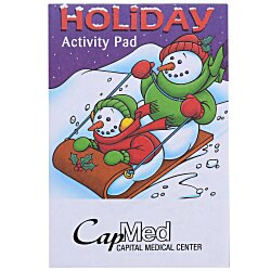View a larger, more detailed picture of the Activity Pad - Holiday