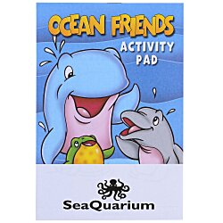 View a larger, more detailed picture of the Activity Pad - Ocean Friends