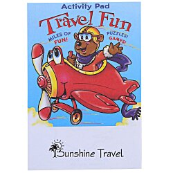 View a larger, more detailed picture of the Activity Pad - Travel Fun