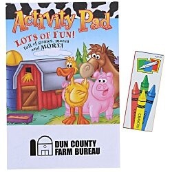 View a larger, more detailed picture of the Activity Pad Fun Pack - Farm Fun