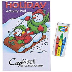 View a larger, more detailed picture of the Activity Pad Fun Pack - Holiday