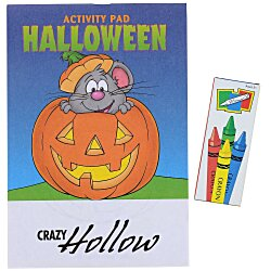 View a larger, more detailed picture of the Activity Pad Fun Pack - Halloween