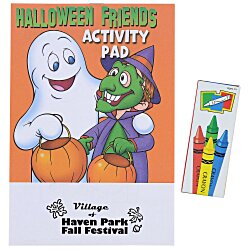 View a larger, more detailed picture of the Activity Pad Fun Pack - Halloween Friends