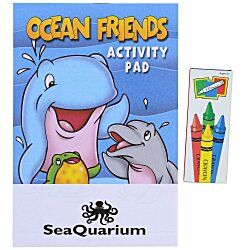 View a larger, more detailed picture of the Activity Pad Fun Pack - Ocean Friends