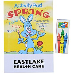 View a larger, more detailed picture of the Activity Pad Fun Pack - Spring