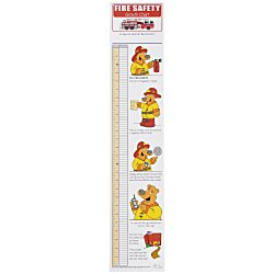 View a larger, more detailed picture of the Fire Safety Growth Chart