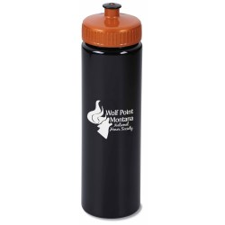 View a larger, more detailed picture of the Elgin Sport Bottle - 25 oz - Black