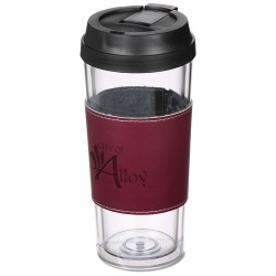 View a larger, more detailed picture of the Mega Tumbler Mate with Wrap - 16 oz - Closeout