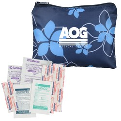 View a larger, more detailed picture of the Fashion First Aid Kit - Navy Floral