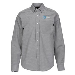 View a larger, more detailed picture of the Hayden EZ-Care Checked Shirt - Men s