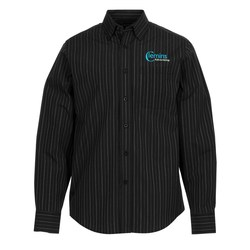 View a larger, more detailed picture of the Taberg EZ-Care Yarn Dyed Stripe Shirt - Men s