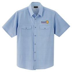 View a larger, more detailed picture of the Sanchi Short Sleeve Dress Shirt - Men s