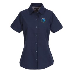 View a larger, more detailed picture of the Sanchi Short Sleeve Dress Shirt - Ladies