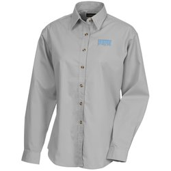 View a larger, more detailed picture of the Capulin EZ-Care Fine Line Twill Shirt - Ladies