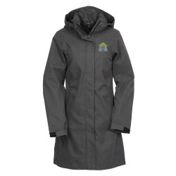 View a larger, more detailed picture of the Savoie Hooded Twill Long Length Jacket - Ladies
