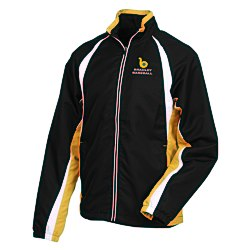 View a larger, more detailed picture of the Kelton Color Block Track Jacket - Men s