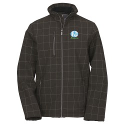View a larger, more detailed picture of the Cabrillo Plaid Soft Shell Jacket - Men s - Closeout