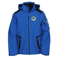 View a larger, more detailed picture of the Elias Insulated Hooded Waterproof Jacket - Men s